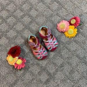 Stride Rite Girls Pink Sandals